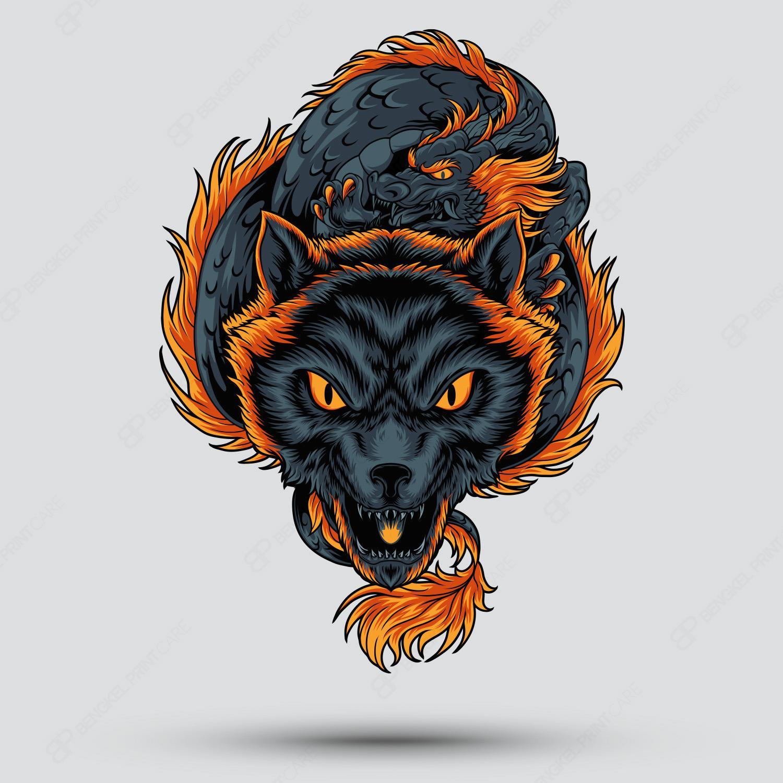 Naga & Serigala Timur