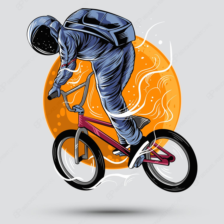 Sepeda Bulan Luar Angkasa
