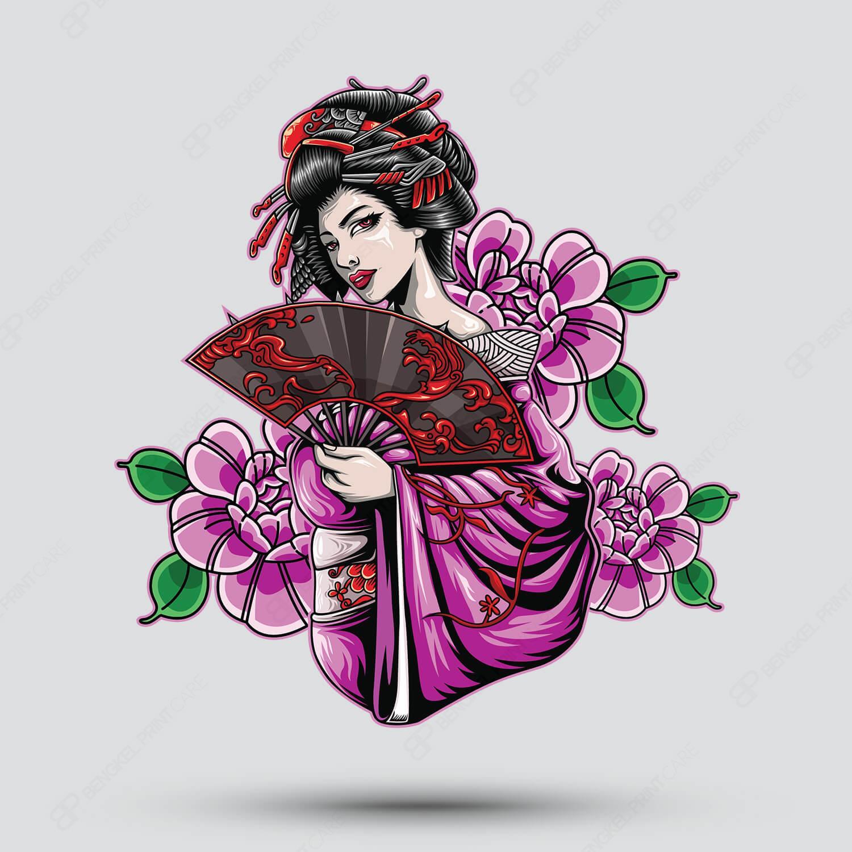 Wanita Bunga Kipas